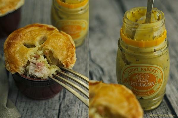 Pie di Pollo e Speck con Senape all'Estragone
