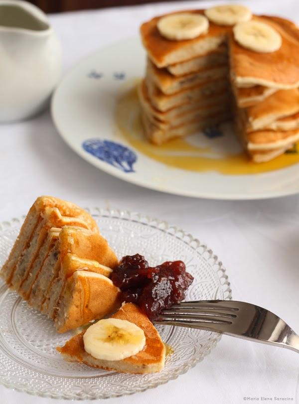 Se questo è un uovo - Banana pancakes senza uova