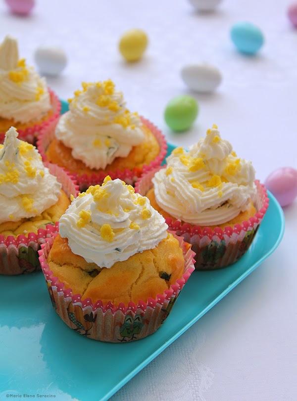 Se questo è un uovo - Cupcake mimosa