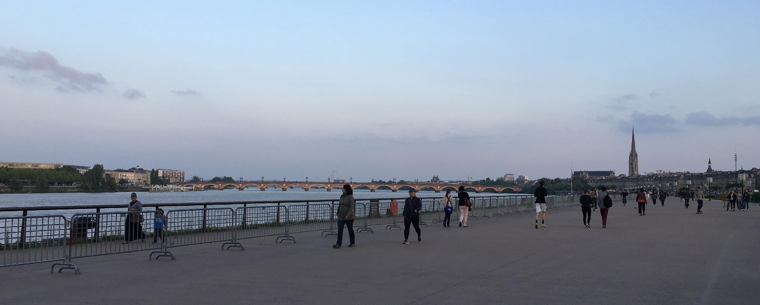 Lungofiume di Bordeaux