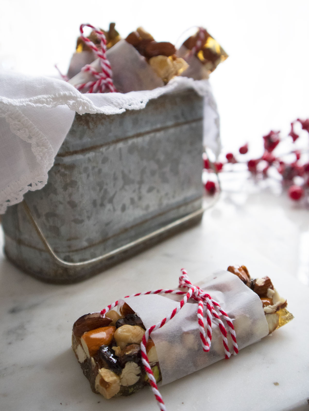 Biscotti di Natale - Croccante mandorle, nocciole e pistacchio