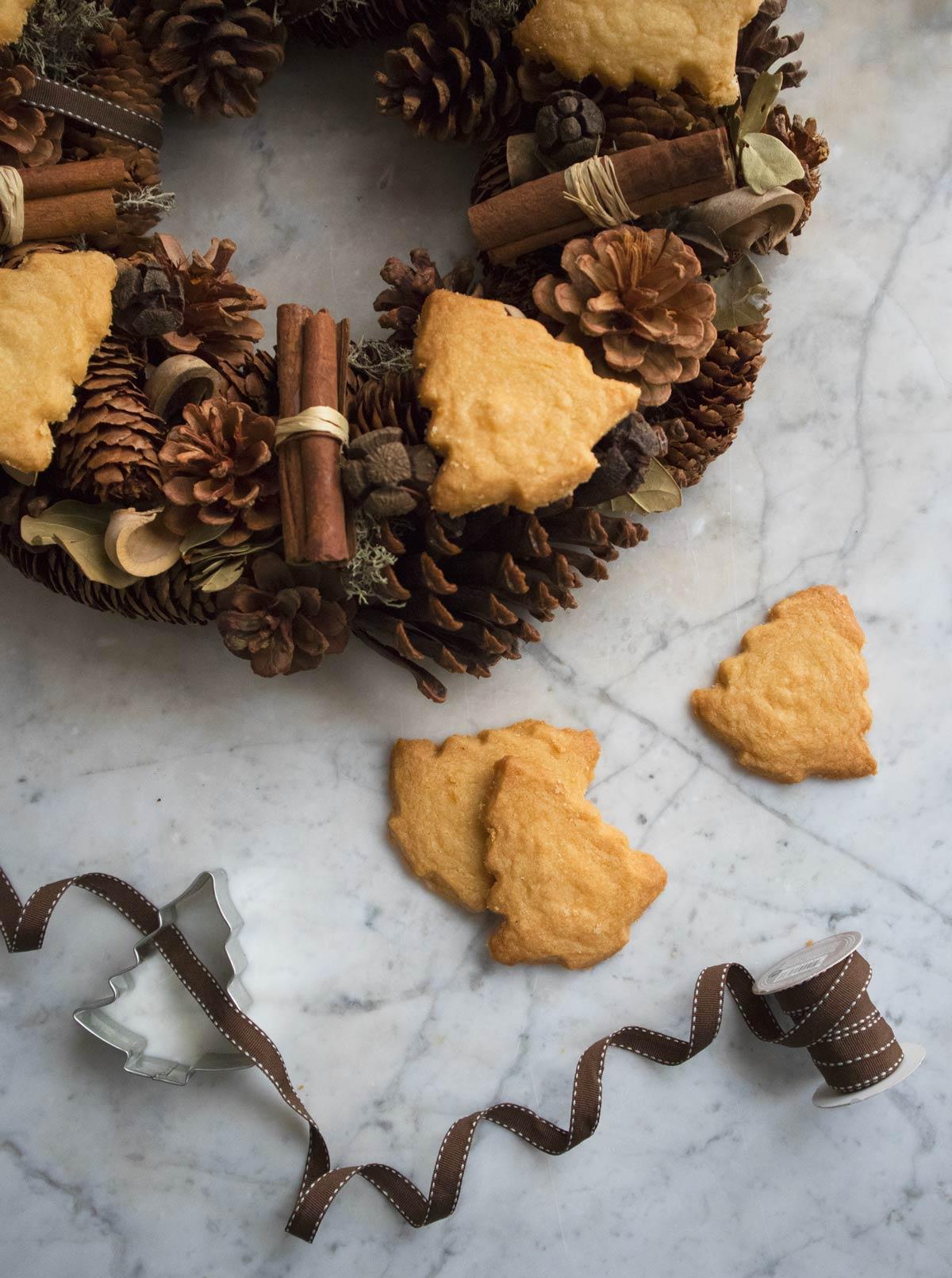 Biscotti di Natale - Shortbread