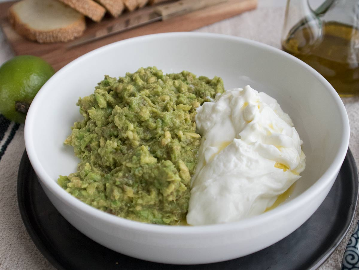 Avocado e yogurt Zymil