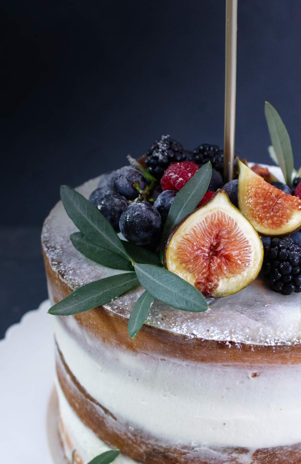 La frutta della mia torta di compleanno