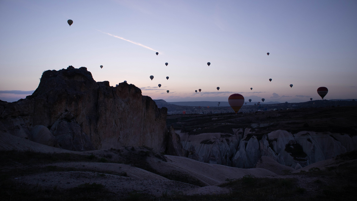 Se questo è un uovo - Mongolfiere Cappadocia