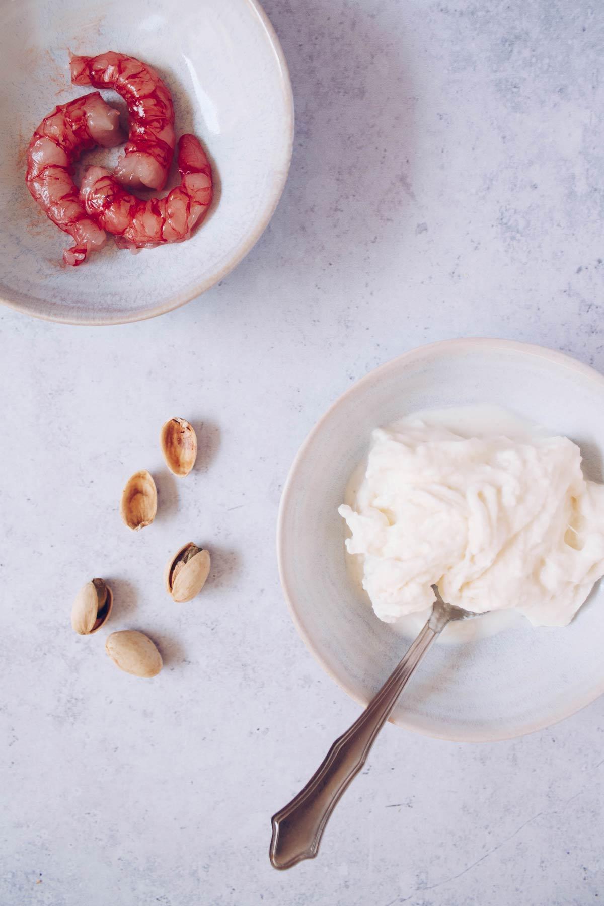 Tartare di gambero rosso - Ingredienti - Se questo è un uovo