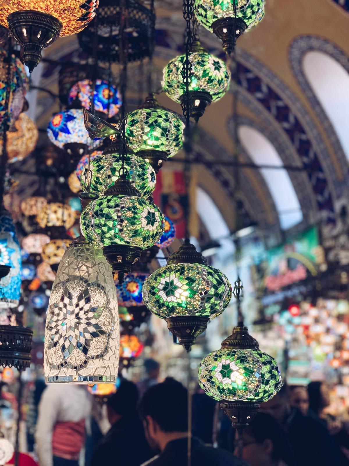 Se questo è un uovo- Turchia- lanterne bazaar