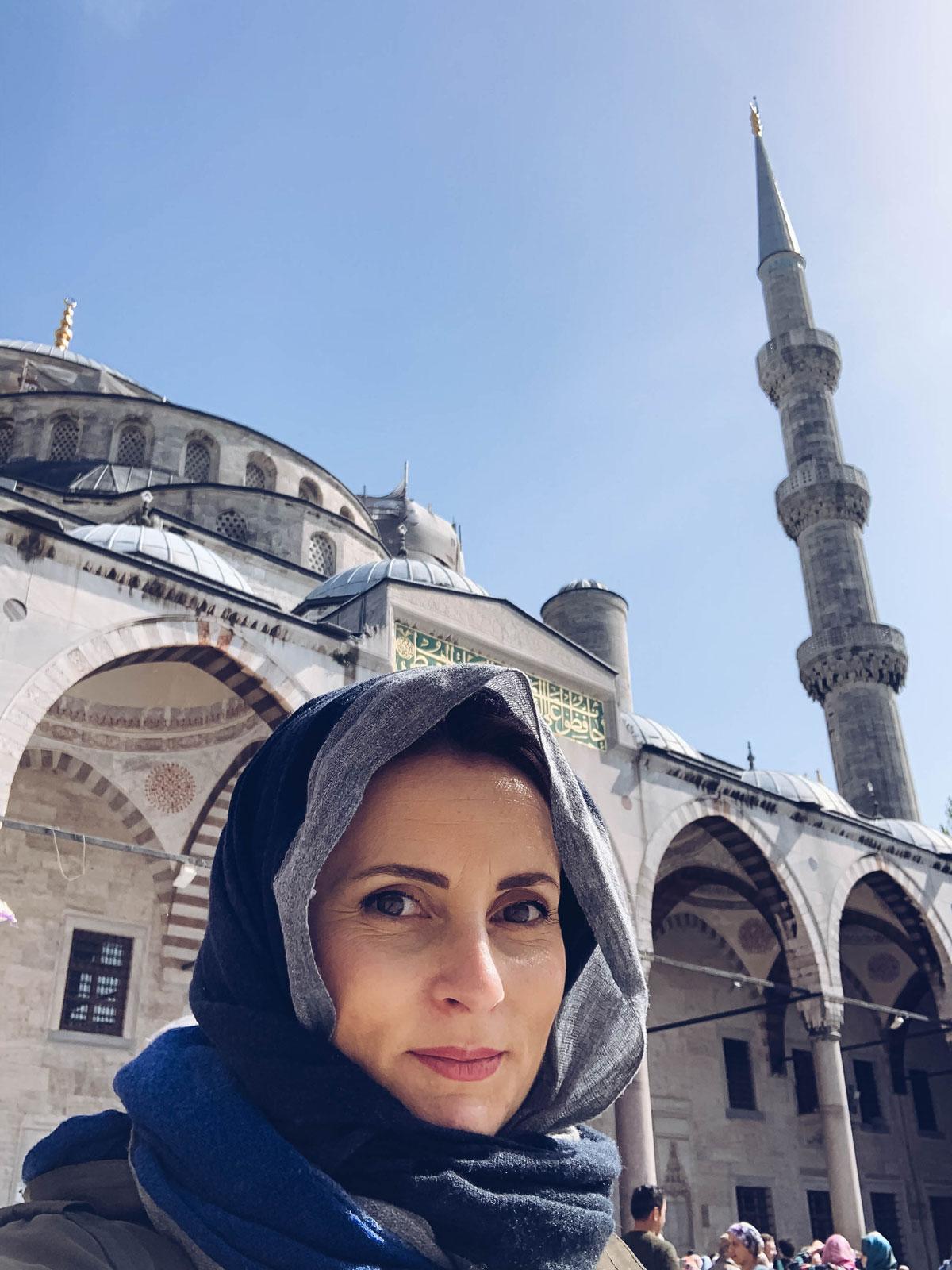 Se questo è un uovo- Turchia- moschea blu