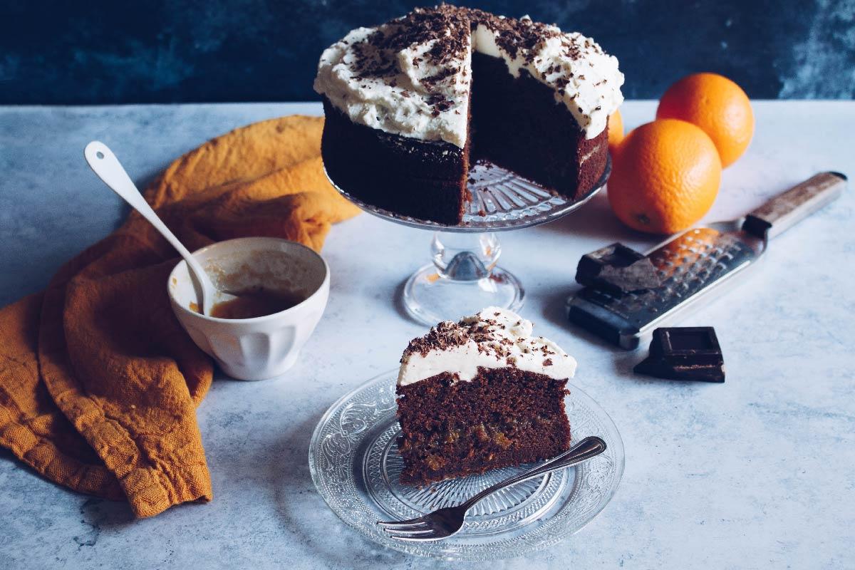 Se questo è un uovo- Torta cioccolato e arance