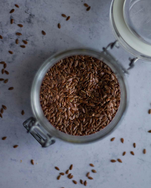Plumcake salato - semi di lino