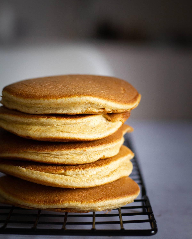 Se questo è un uovo - Pancake in piletta