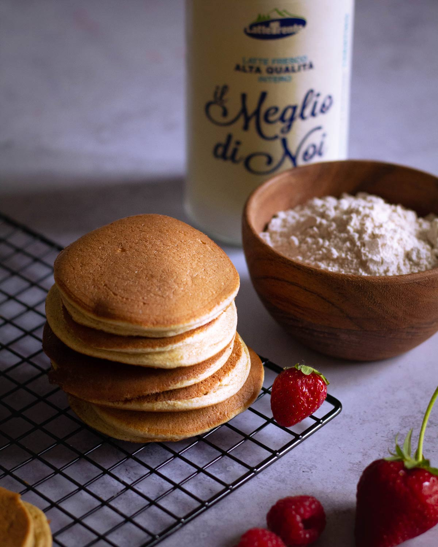 Se questo è un uovo - Ingredienti per i pancake
